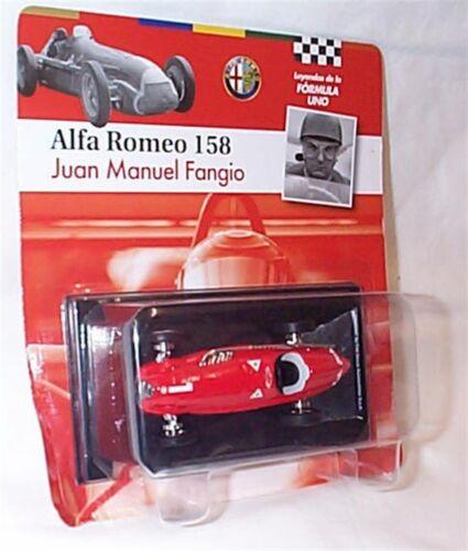 Alfa Romeo 158 Juan Manuel Fangio 1950 1-43 Scale New in Carded Blister