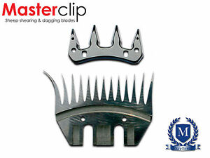 New-Masterclip-Sheep-Ram-Ewe-Shearing-Dagging-Combs-Cutters-Clipping-Blades
