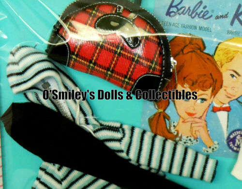 1959-63 WINTER HOLIDAY #975 Barbie LIMITED 7500 ww Vintage Repro Fashion/_C8/_NRFB