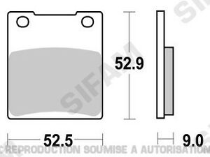 Plaquettes-de-frein-arriere-Suzuki-TL-1000-S-1997-a-2000-S1009