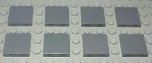 LEGO carreau-tuile 2x2 New Gris foncé 8 pièces (608)