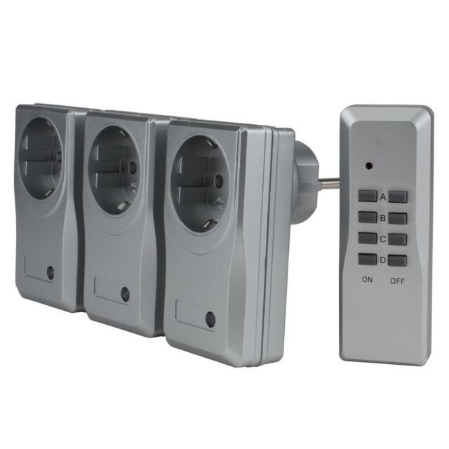 Funkfernschalter-Set 3+1 MICRO - für den Innenbereich