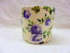 Blue Ivy Rose pequeño tazón de azúcar por Heron Cross Pottery