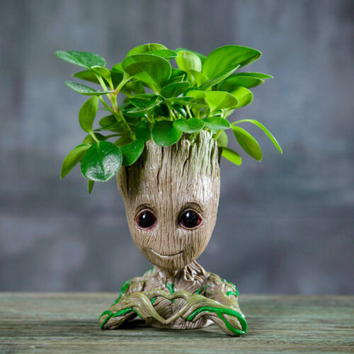 Tree Man Baby Action Guardians of The Galaxy Baby Groot planter Pen Flowerpot