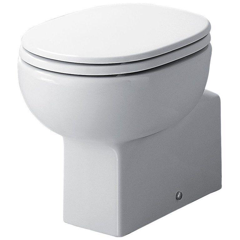 SEDILE WC.ARTIGIANALE IN LEGNO POLIETERE PER VASO LINDA IDEAL STANDARD BIANCO