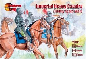 Mars Swedish heavy cavalry 1:72