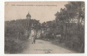 Environs de Dieppe La Route Du Phare d'Ailly France Lighthouse Postcard 195c