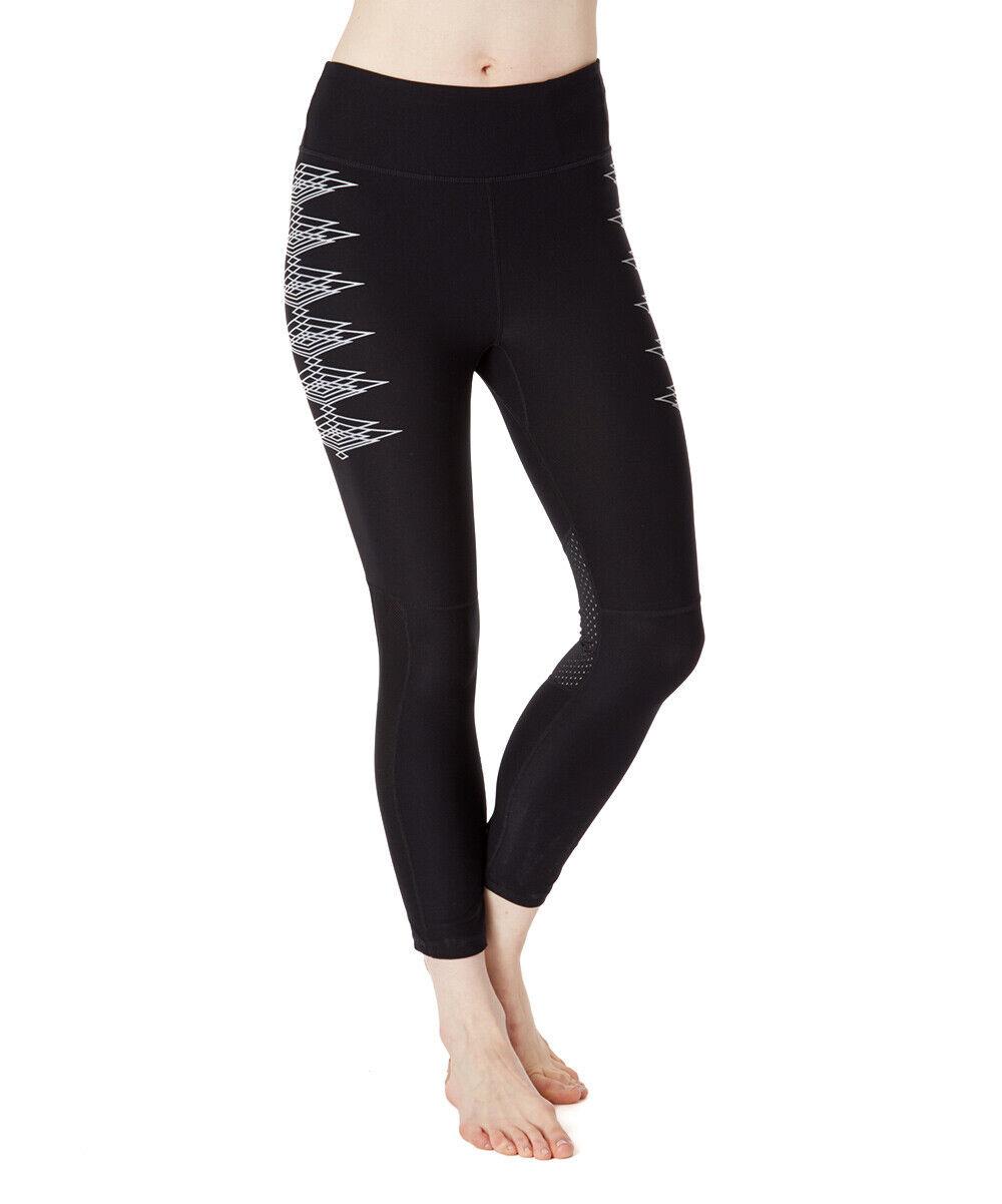 GIRL REFLECTIVE Mesh COMPRESSION Stretch FITNESS Sport RUNNING Yoga LEGGING Pant