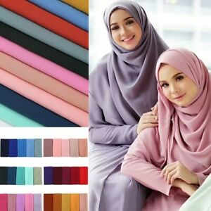 Women-Muslim-Islamic-Tassel-Long-Hijab-Scarf-Shawl-Wrap-Stole-Pashmina-Gifts-New