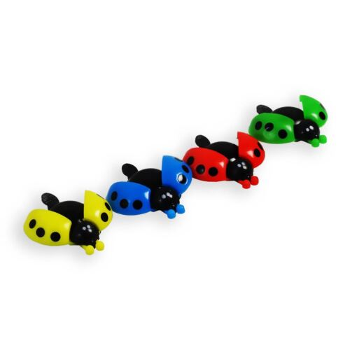 Lovely Kid Beetle Coccinelle Ring Bell Cyclisme vélo Bike Ride Corne Alarme Jaune
