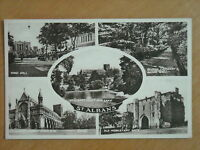OLD SEPIA MULTI VIEW POSTCARD OF ST. ALBANS