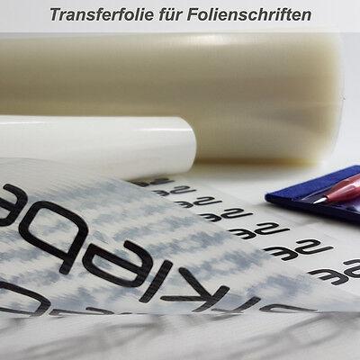 Transferfolie Übertragungsfolie 60cm Breite - Laufmeterware auf sich gewickelt