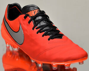 Nike Tiempo Legend VI FG 2 men soccer cleats football light crimson ... 1d9d24dc9