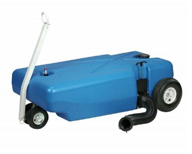 25 Gallon Tote-N-Store 20123 Portable Waste Transport 4 Wheeler
