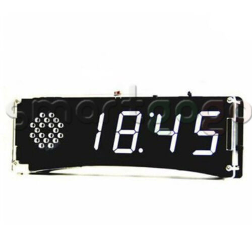 DIY Kits Speech Version of Digital Electronic Clock 51 Single-chip YD-030 BSG
