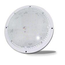 85 Round Led Rv Porch Light White 12 V Scare Light Outdoor Lighting 1000 Lm
