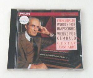 FRESCOBALDI-WORKS-FOR-HARPSICHORD-GUSTAV-LEONHARDT-CD-PHILIPS-1991-NM-NM
