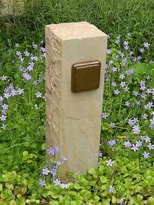 Aussensteckdose-Gartensteckdose-aus-Sandstein-Naturstein-Steckdose