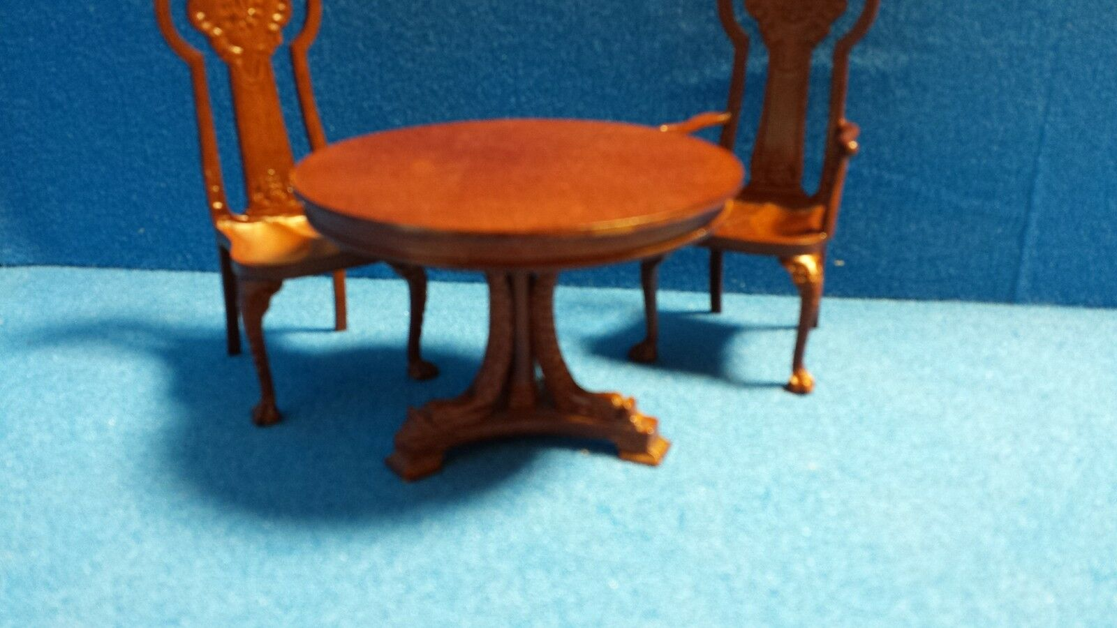 1/12 scale Dolls House Quality Furniture  Table & 4 Chairs  Set   DHD06020set