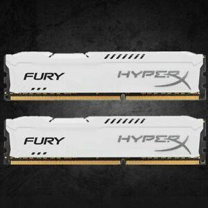 Para-Kingston-HyperX-4GB-8GB-16GB-PC3-12800-DDR3-1600MHz-Blanco-Lote-de-memoria-de-escritorio