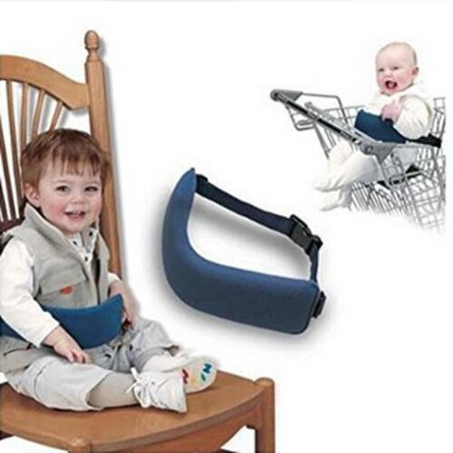 Portable Kids Seat Baby Chair Safety Belt Foldable Washable Infant Dining Y2