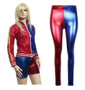 Bomber da donna in tema Suicide Squad//Harley Quinn ideale per Halloween o Cosplay