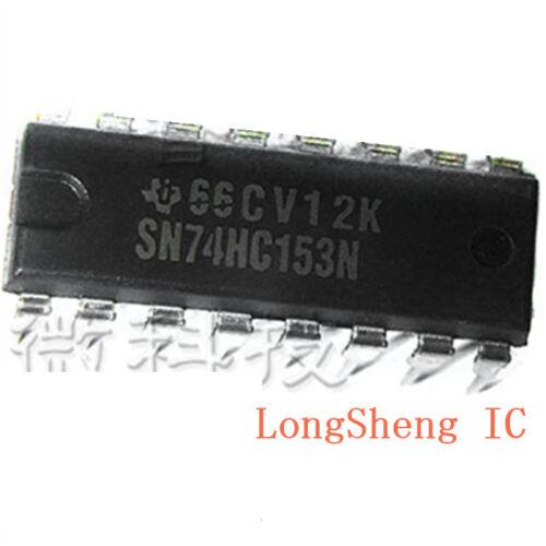 10 PCS SN74HC153N DIP-16 74HC153N 74HC153 Dual 4-input multiplexer