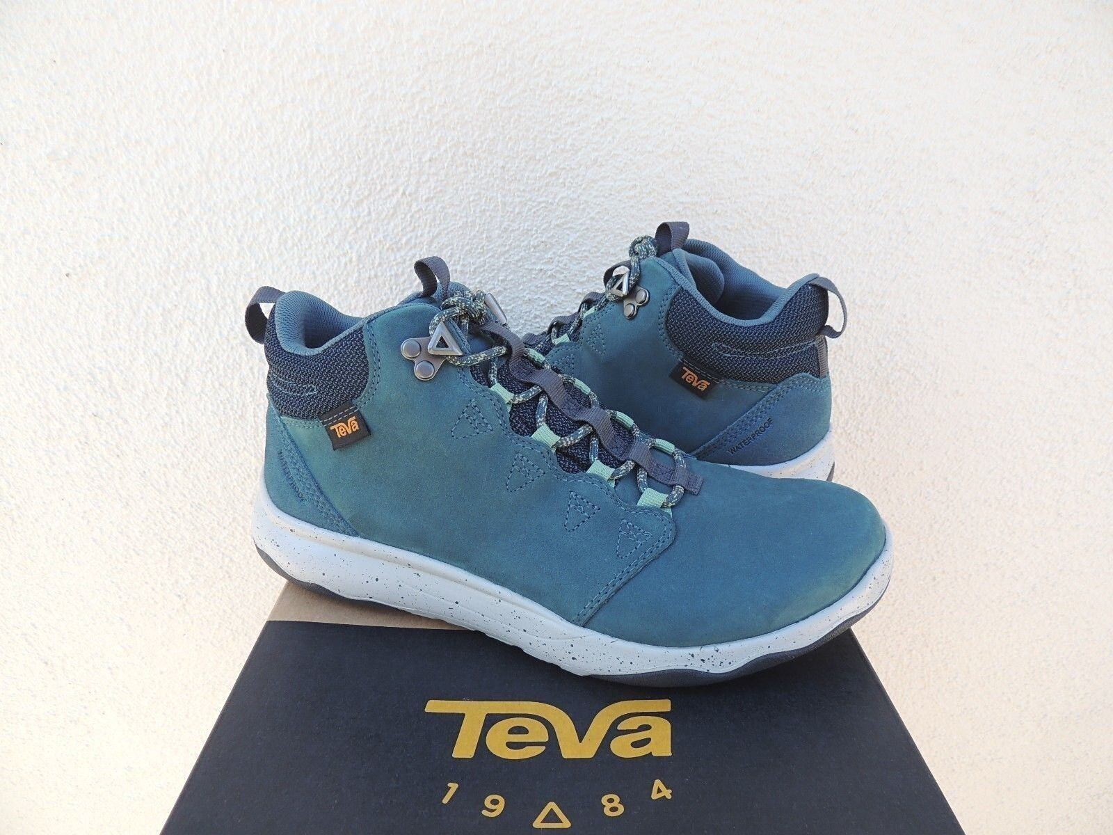 TEVA STARGAZER ARROWOOD LUX MID WP LEATHER SNEAKER BOOTS, US 9/ ~NEW