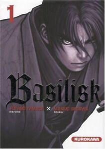 Collection-complete-de-mangas-Basilisk-en-francais-Tomes-1-a-5-Kurokawa