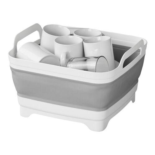 Faltbare Spülschüssel mit verschließbarem Bodenablauf abfluss Camping Boot WoMo
