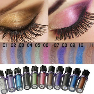 Pro-Eyeshadow-Makeup-Glitter-Pigment-Powder-Body-Fast-ROLL-ON-EYE-SHIMMERE