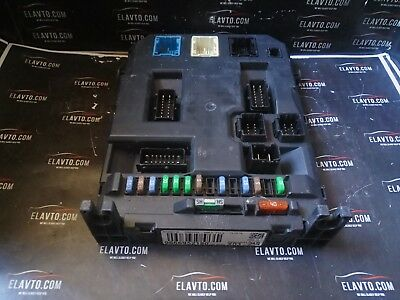 Citroen C3 Pisacco Peugeot 207 ENGINE FUSE BOX BSM 9667199780