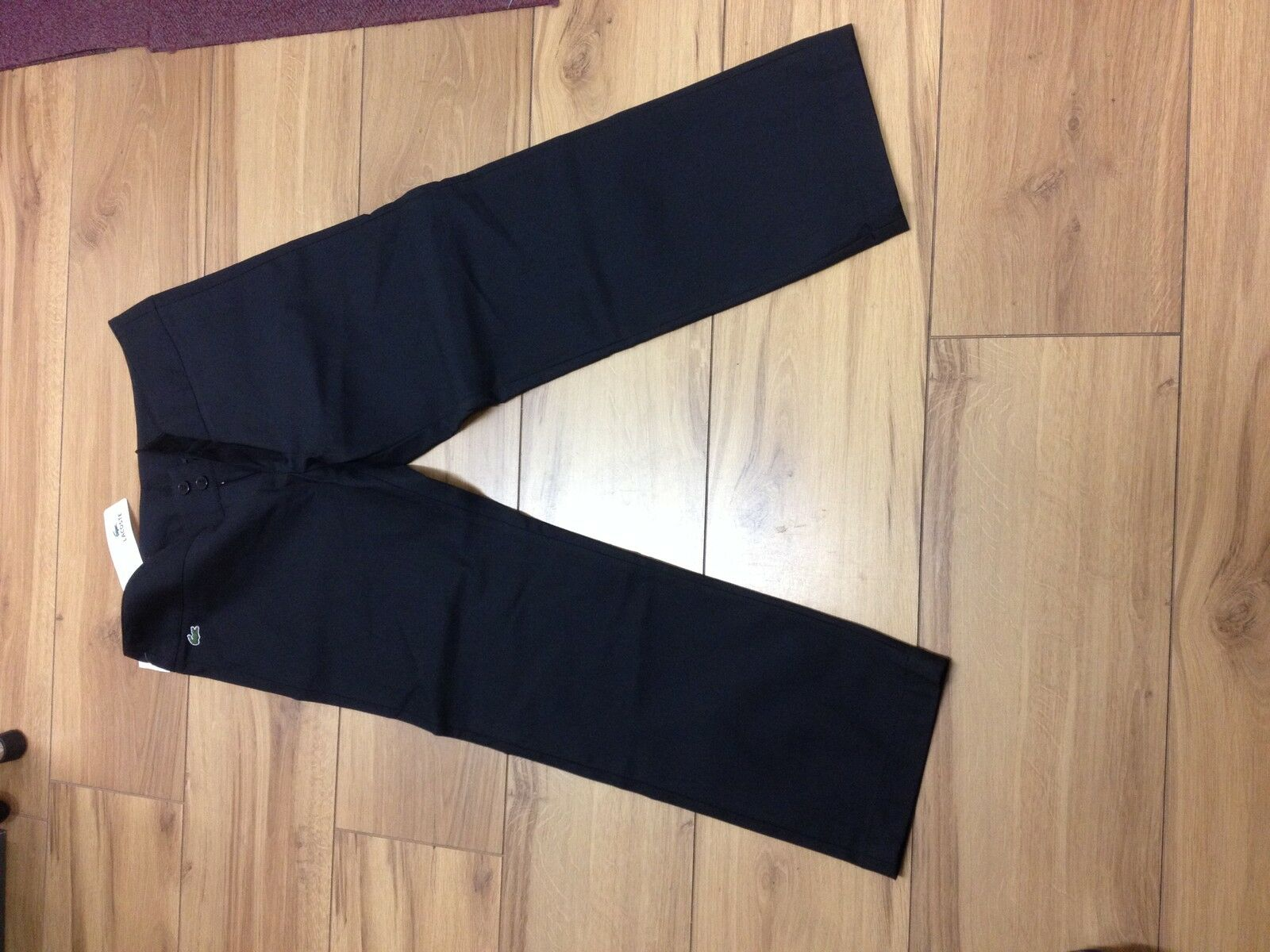 Lacoste 3 4 trouser blk