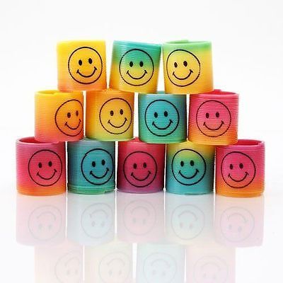 24 Novelty Smiley Face Erasers Rubbers Stocking Party Bag Filler Pinata Toy