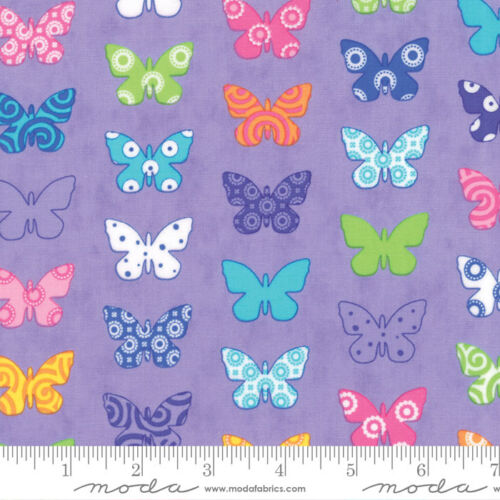 Purple 22281 14 by 1//2 yard MODA Fabric ~ BRIGHTEN UP ~ Me /& My Sister