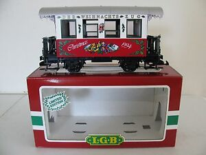 1994-LGB-G-Scale-Limited-Edition-Christmas-Passenger-Coach-Wagon-35070-NIB