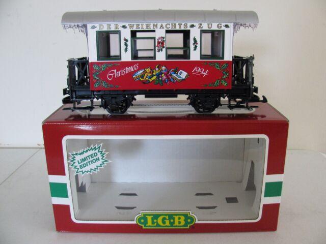 1994 LGB G Scale Limited Edition Christmas Passenger Coach Wagon #35070 NIB