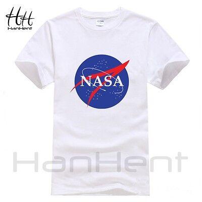 NASA Fashion Mens T-shirt New Summer style Printed Cotton Men t shirt Tops Tees