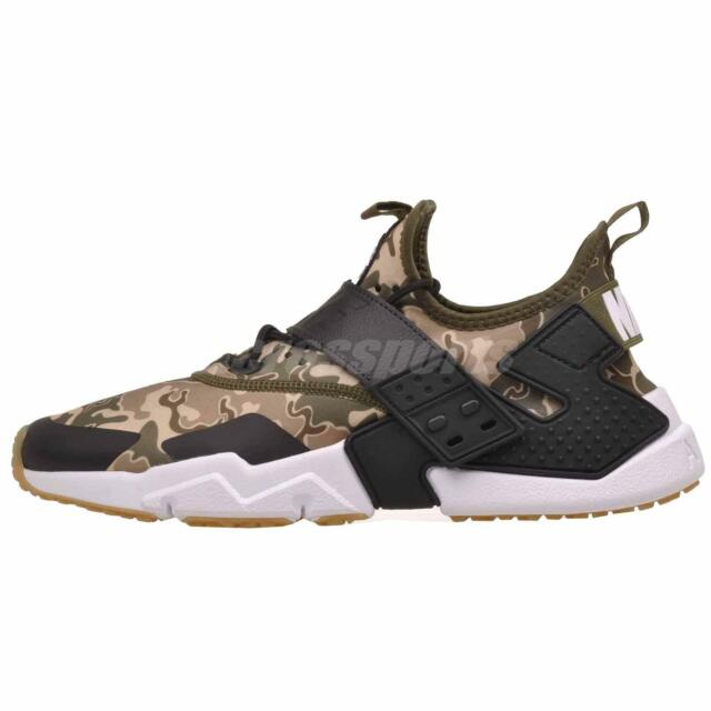 c938bfcc4998 Nike Air Huarache Drift PRM Mens Running Shoes Olive Canvas AH7335-301