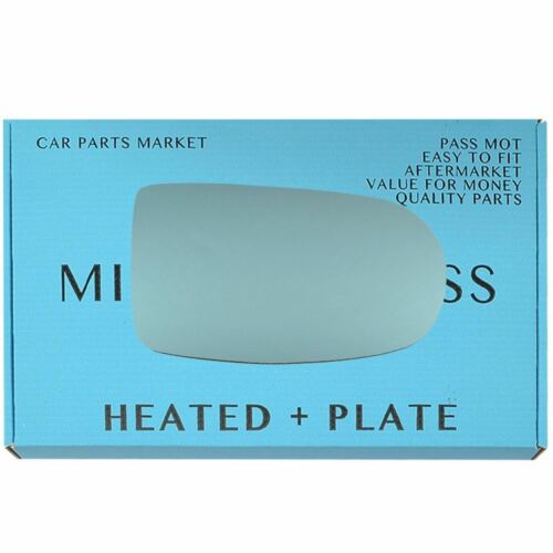Right blue Wing mirror glass for Alfa Romeo GTV Spider 95-05 heated plate