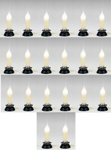 (20) ea Darice 6201-83 Electric Country Window Candle Lamps