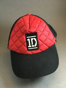 ONE-Direction-band-hat-puffy-hat-red