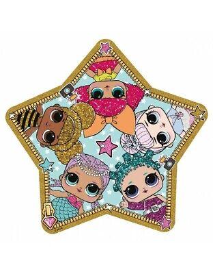 Creativo Lol Toalla Infantil Estrella Playa Piscina Niña 130x130cm Il Prezzo Rimane Stabile