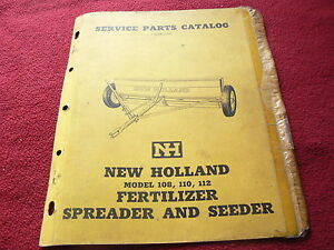 New Holland 300 Manure Spreader Dealer/'s Parts Book Manual WPNH