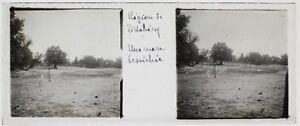 Africa Tillabéri Niger Foto C14 Placca Da Lente Stereo Vintage Ca 1910