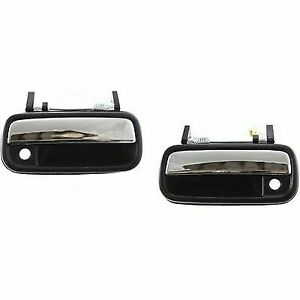 fits 89-95 TOYOTA PICK UP TRUCK DOOR HANDLE OUTSIDE RIGHT BLACK