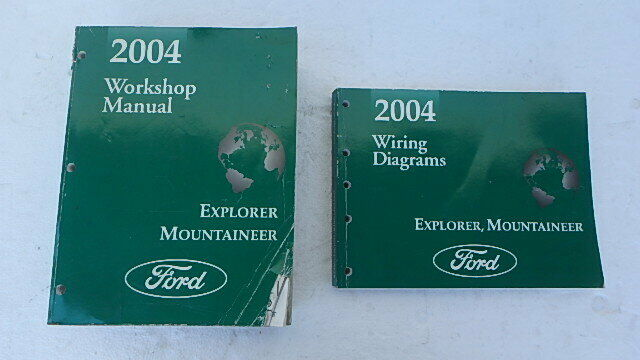 2004 Ford Explorer Mountaineer Service Shop Manual Set