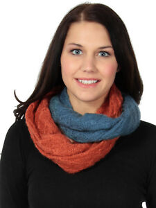 Women-Men-Knitted-Winter-Warm-Cowl-Neck-Infinity-Circle-Loop-Scarf-Scarves