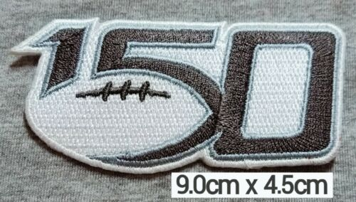 150Years NCAA Football College2019 Patch Logo iron-sew-Decorations on Clothes