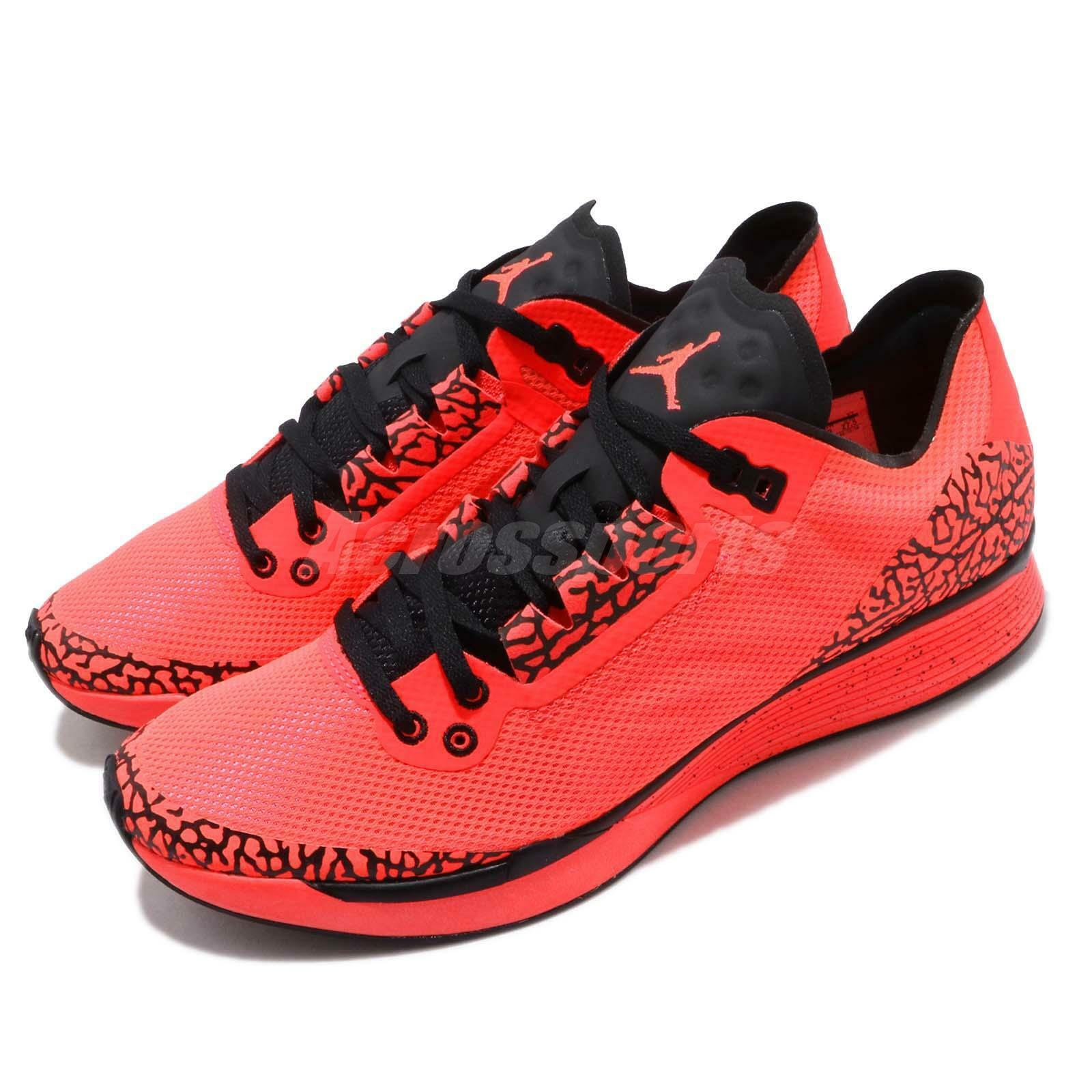 Nike Jordan 88 Racer Infrared 23 Black Cement Print Men Running shoes AV1200-600